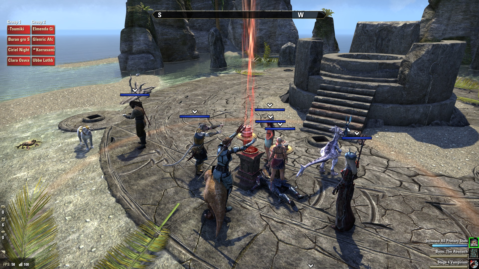 Trying to summon a dolmen