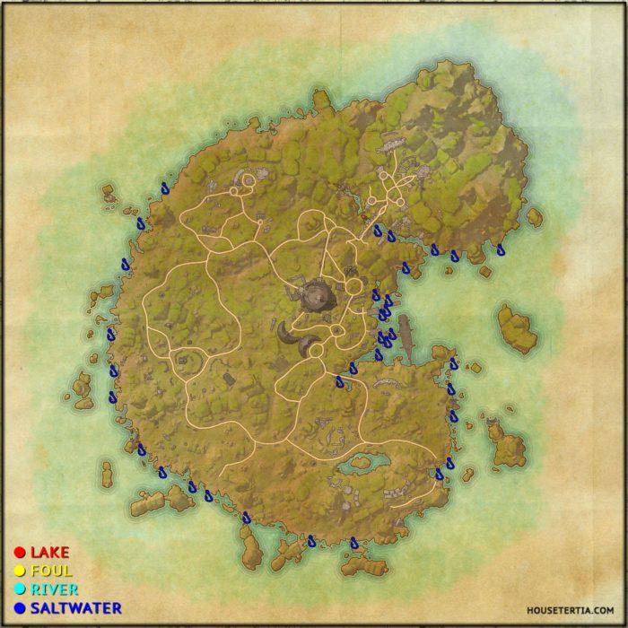 ESO Fishing Map: Betnikh