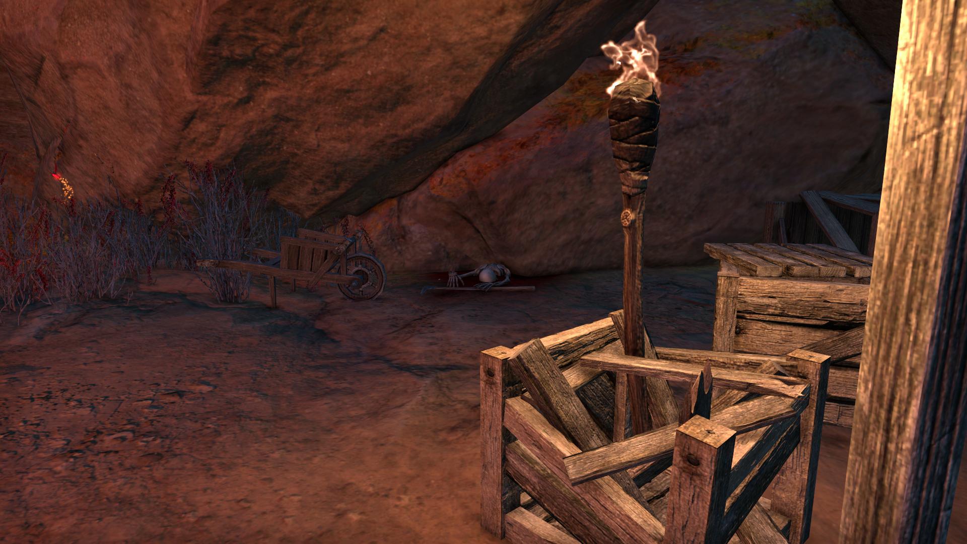 Poor Skelly in Darkpool Mines